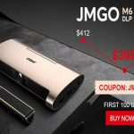 【Gearbest】JMGO M6(中華スマホプロジェクター)独占新品発売セール実施中!